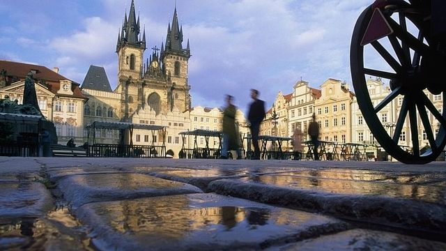 Staromestske Namesti in Prague