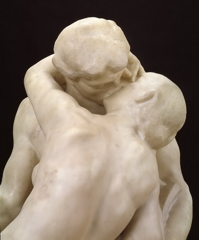 The Kiss 1901-4 by Auguste Rodin 1840-1917