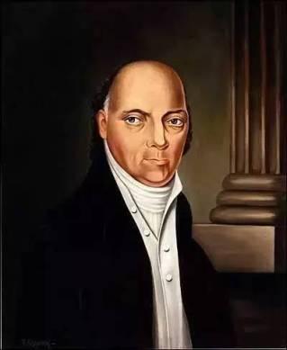 主动辞职的约翰·布莱尔大法官。每次看到这个画像都觉得他一定得罪了画师。