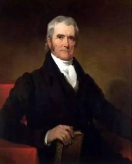 1801-1835在马歇尔出任美国联邦法院首席大法官期间被认为是美国联邦司法史极为重要的时期。